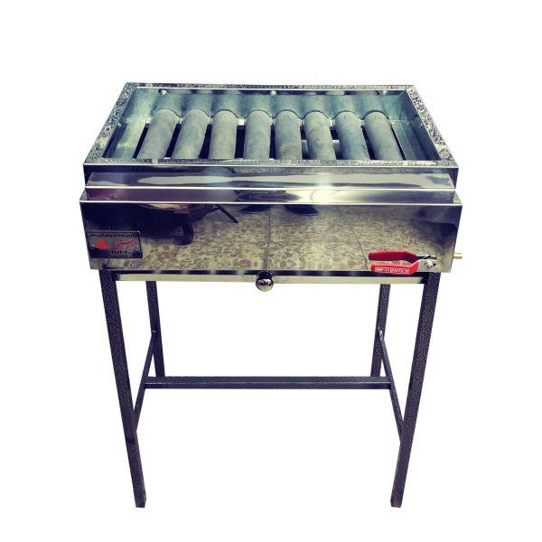 کباب پز گازی استیل مدل آلاو SG60
