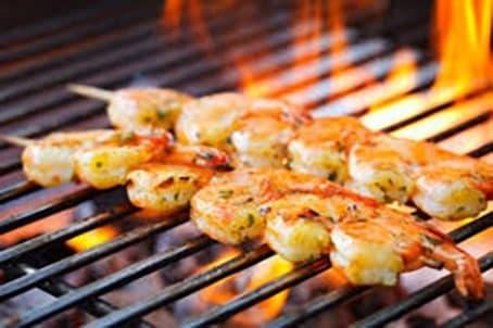کباب میگوی تند- فروشگاه كباب پز آتش مهر