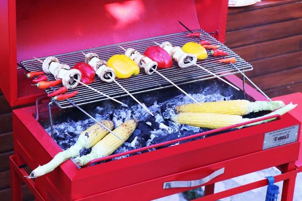 لذت پخت سبزیجات کبابی با محصولات آتش مهر