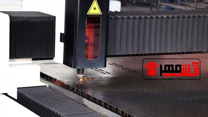 خط تولید شرکت آتش مهر