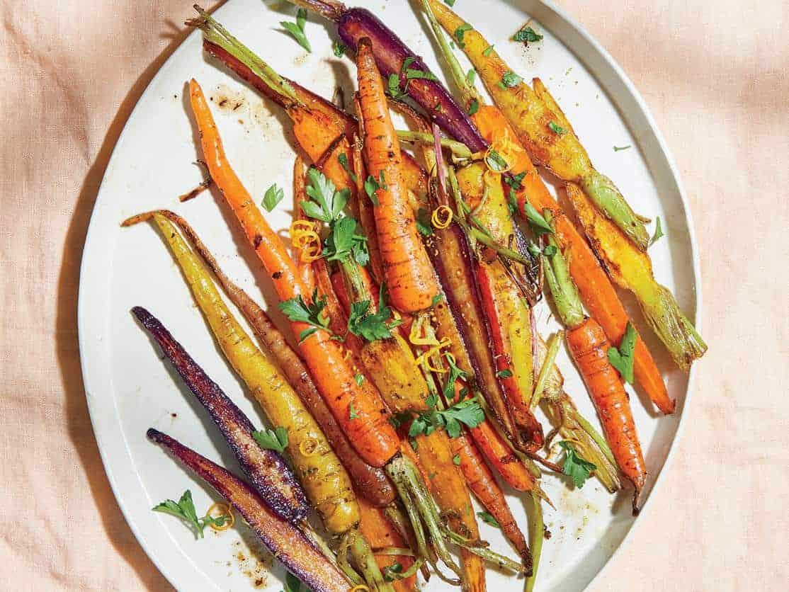 هویج کباب شده