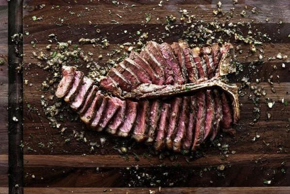 استیک گوشت با سس board
