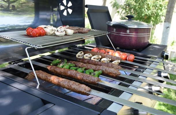 آشپزی با باربیکیو گازی افروزش۲۰۳